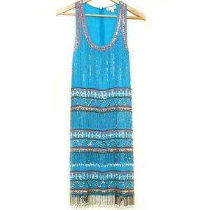 Frock and Frill Vintage Beaded Flapper Dress